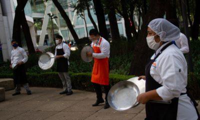 """Restauranteros de la CDMX anuncian nuevo """"cacerolazo"""""""