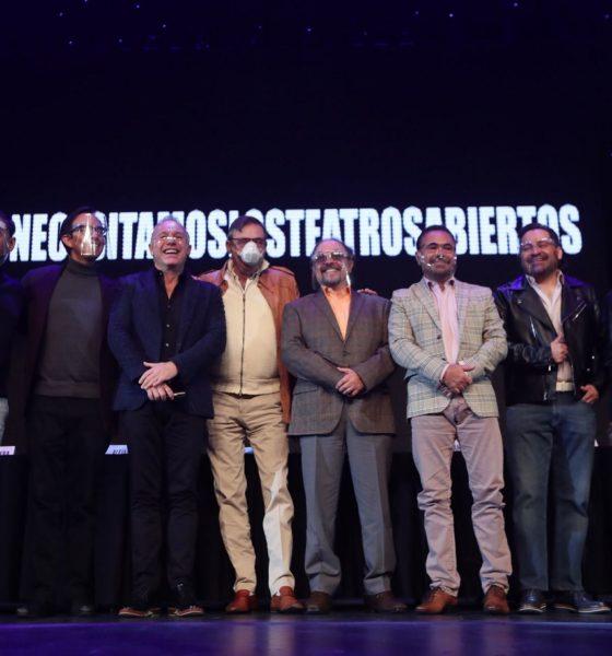 productores teatrales exigen reapertura del teatroo