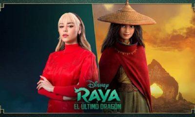 Danna Paola será la voz de Raya