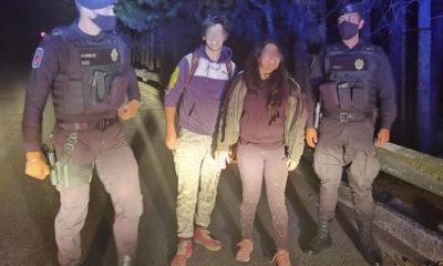 Rescatan a jóvenes extraviados en el cerro del Ajusco