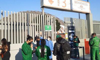 Realizan simulacro de vacunación en Palacio de los Deportes