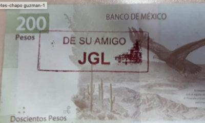 Billetes con sellos del Chapo (Especial)