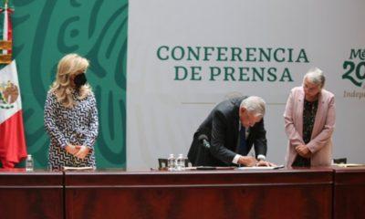 Firman AMLO y gobernadores Acuerdo Nacional por la Democracia