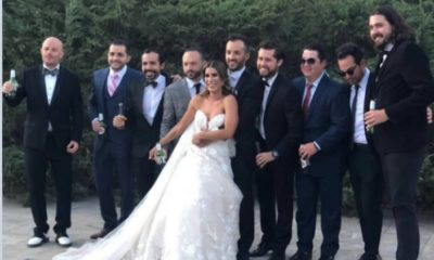 Amaury Vergara estaba en boda mientras América goleaba a Chivas. Foto: Twitter