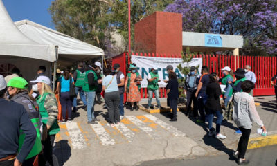 Adultos de alcaldía Azcapotzalco reciben vacuna anticovid