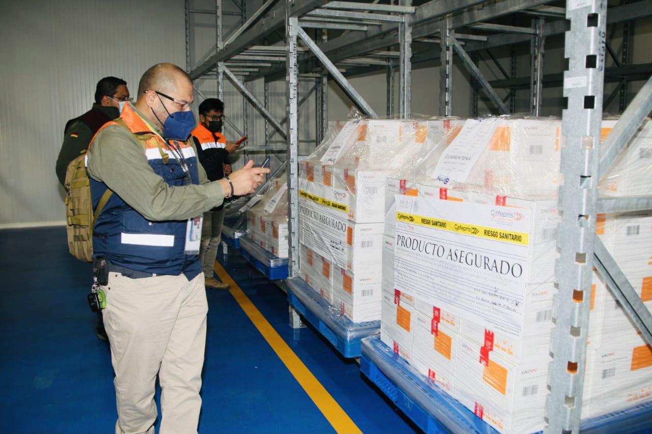 Birmex inicia distribución de vacunas anti Covid-19. Foto: Twitter