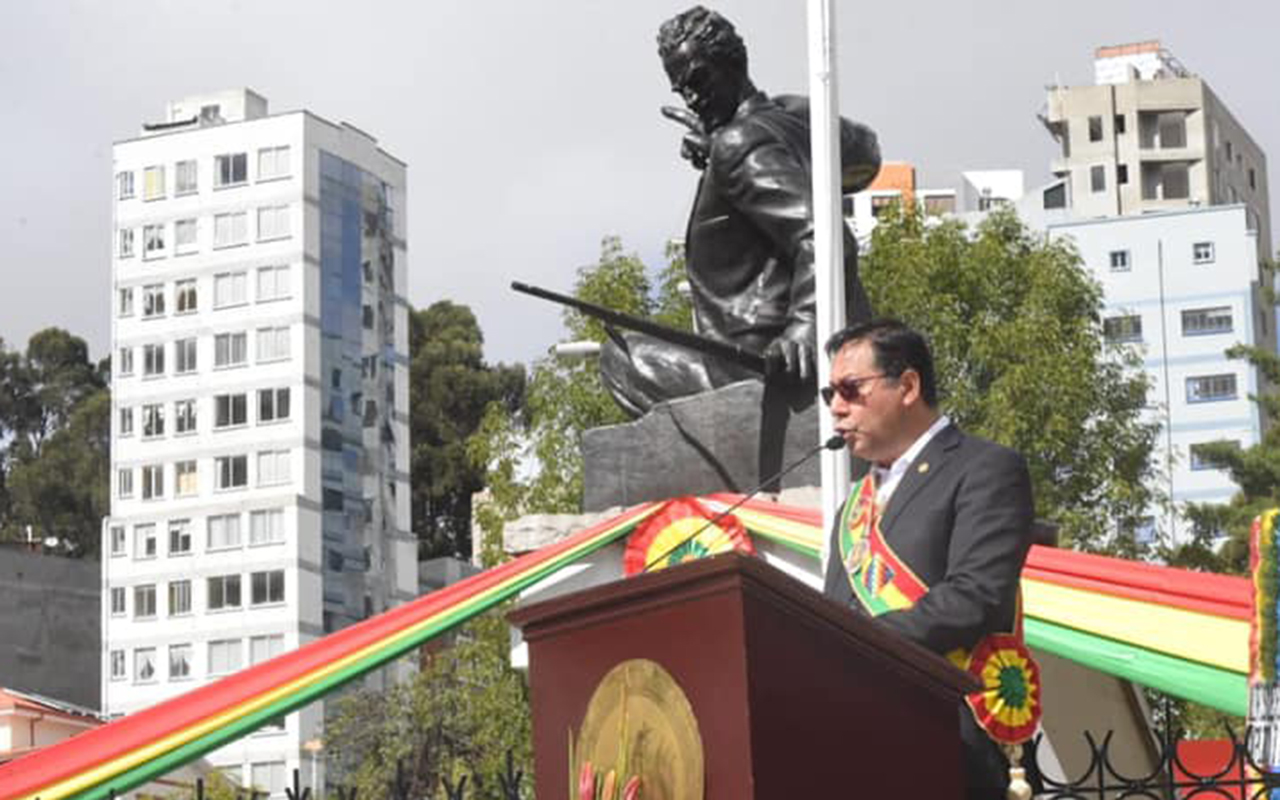 Presidente de Bolivia Luis Arce Catacora visita México