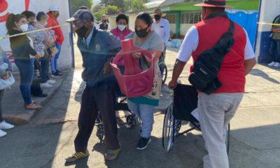 Sin contratiempos, avanza vacunación anticovid en Chimalhuacán