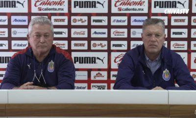 Chivas define futuro de Vucetich y Peláez. Foto: Twitter Chivas