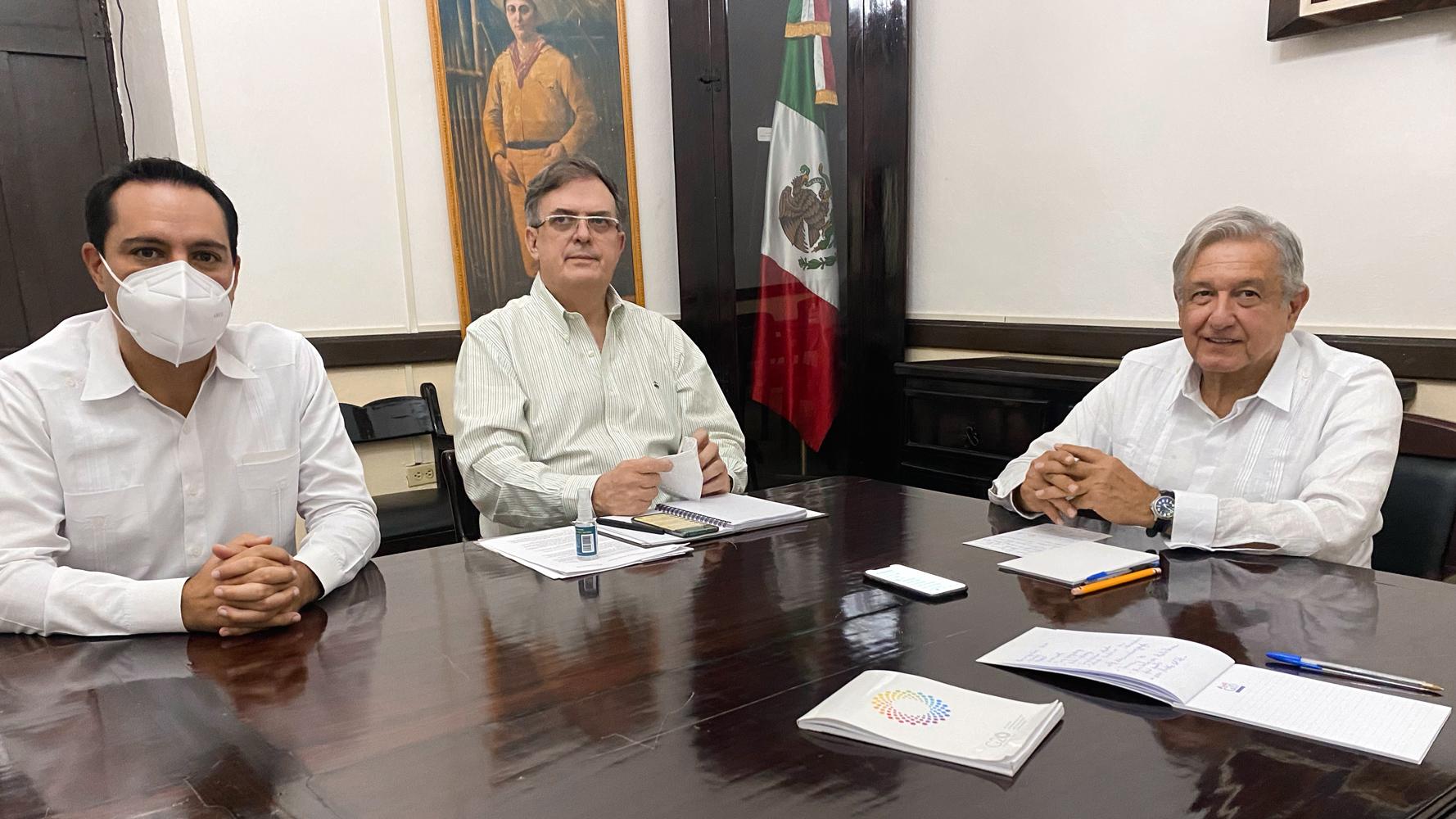 Defiende López Obrador la colocación de vallas. Foto: Twitter
