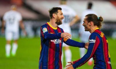 Doblete de Messi en victoria del Barcelona. Foto: Twitter Barcelona