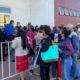 Regresan largas filas a Ecatepec para segunda dosis de vacuna