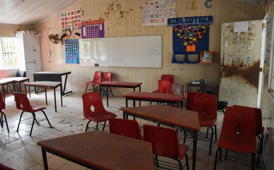 Escuelas no abrieron. Foto: Cuartoscuro