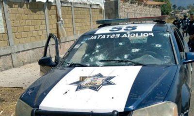 Detienen a 25 personas por emboscada a policías en Coatepec Harinas
