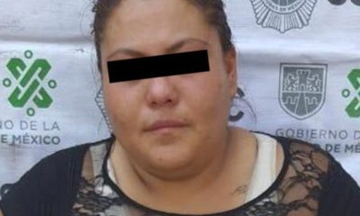Policías detienen a Teresa Mendoza, acusada de golpear a un adulto mayor