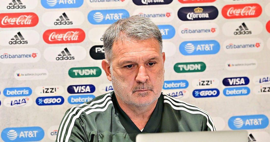 "Gerardo ""Tata"" Martino no piensa en Funes Mori. Foto: Cuartoscuro"