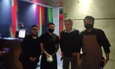 Harrison Ford en Baja California