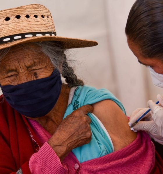 Inicia Tercera etapa de vacunación. Foto: Cuartoscuro