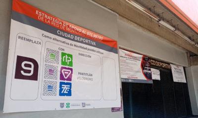 Implementan alternativas de transporte para usuarios de Línea 9