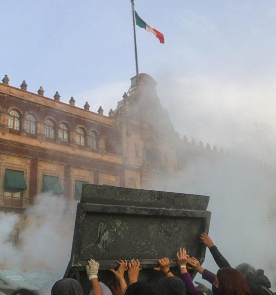 No caímos en la trampa ni en provocaciones: López Obrador