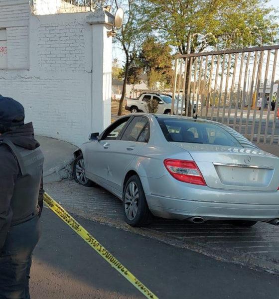 Asesinan a conductor de auto de lujo en CDMX