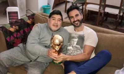 Luque insultó a las hijas de Maradona. Foto: Twitter