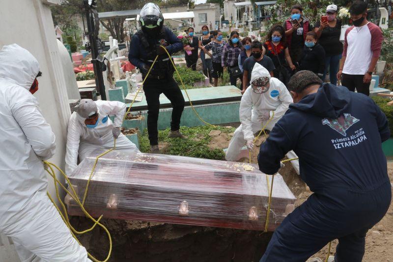 México tercer país con más decesos de Covid-19. Foto: Cuartoscuro