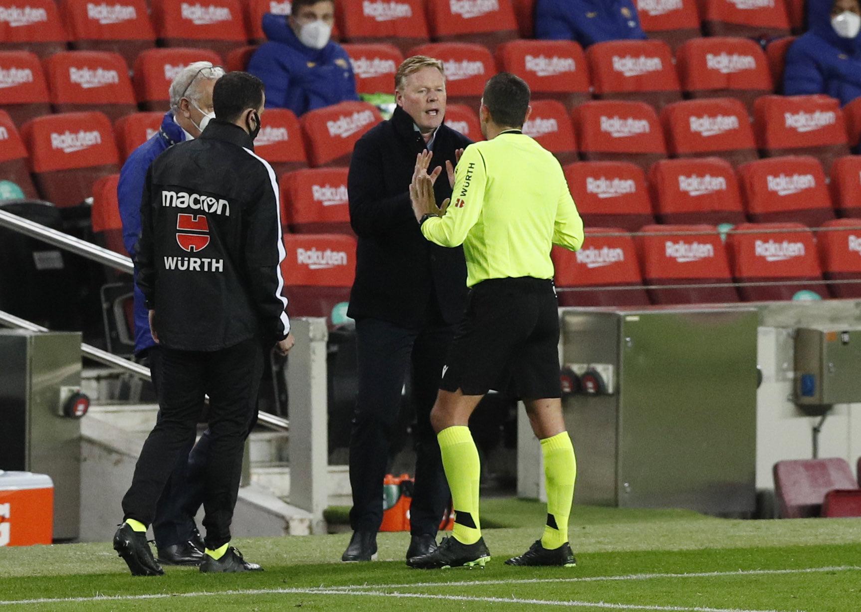 No le preocupa a Koeman su posible salida de Barcelona. Foto: Twitter Koeman