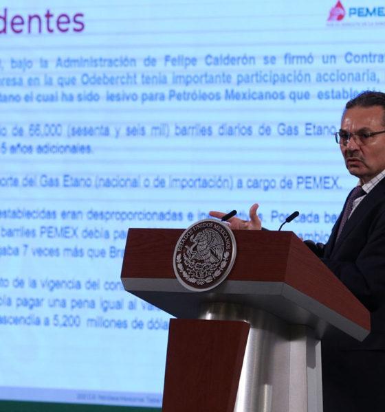AMLO y Odebrecht acuerdan reparación de daños por contrato con Pemex