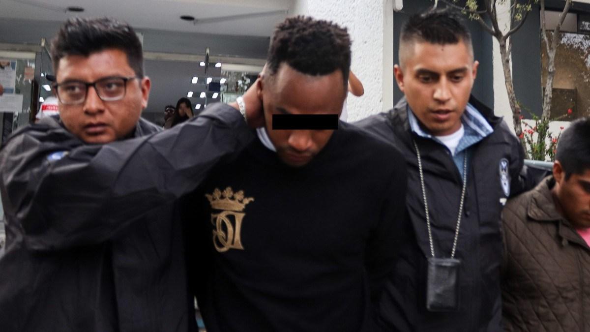 Renato Ibarra detenido. Foto: Cuartoscuro