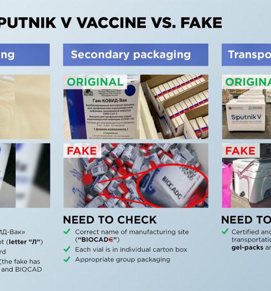 Vacunas Sputnik V decomisadas en México son falsas: Rusia