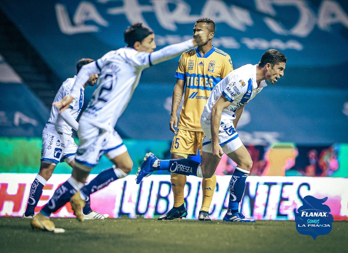 Tigres no pudo con Puebla. Foto: Twitter Puebla