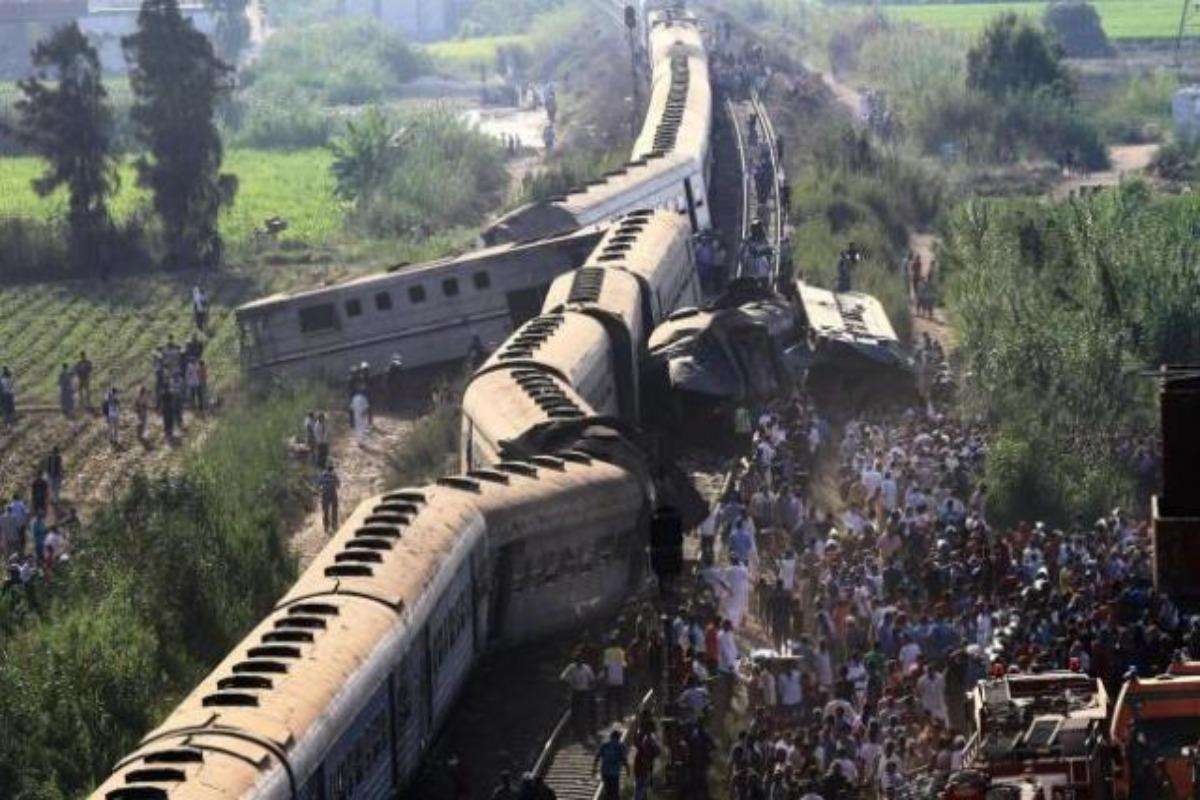 Choque de trenes en Egipto; 32 muertos y 60 heridos