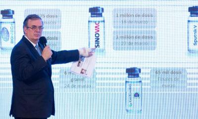 Negociación de vacunas anticovid EU-México avanza bien: Ebrard