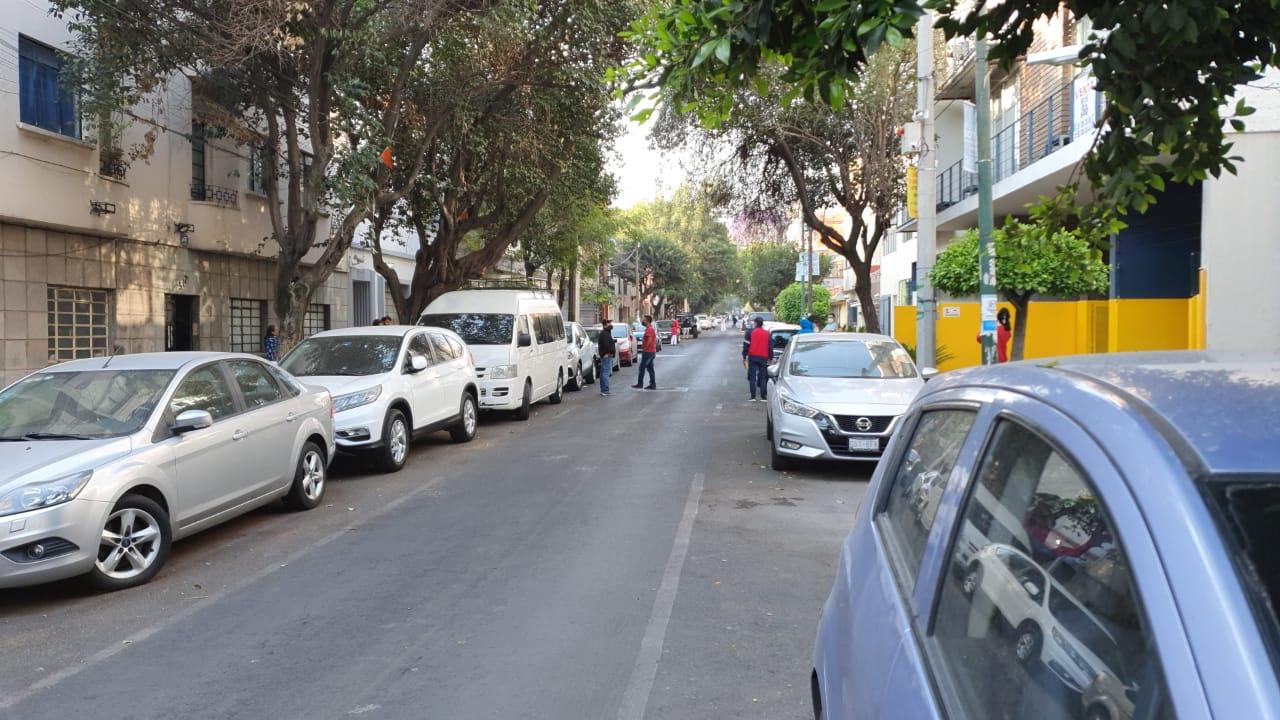 Se activó la alerta sísmica en la CDMX. Foto: Israel Lorenzana