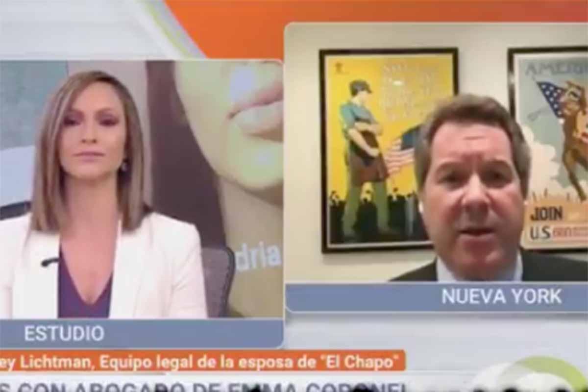Abogado de Emma Coronel insulta a presentadora de televisión. Noticias en tiempo real