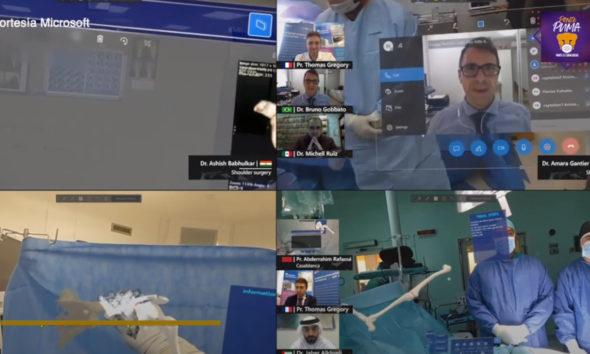 Universitarios realizan en México primera cirugía con realidad mixta