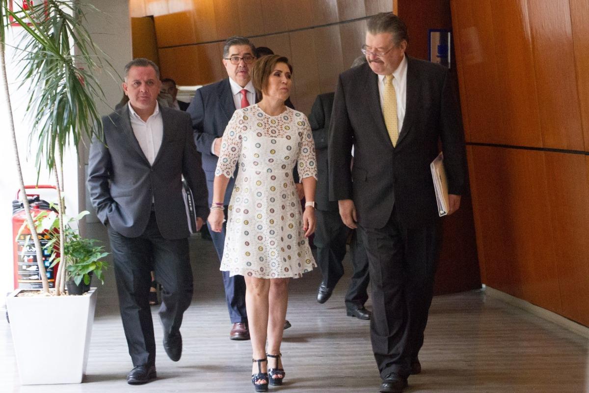 Se declara inocente Rosario Robles en el caso Estafa Maestra