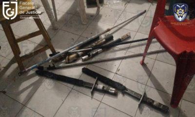 Aseguran objetos para agredir durante marchas del 8 de marzo