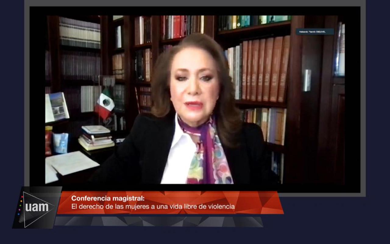 Llama ministra Esquivel a no normalizar violencia contra las mujeres