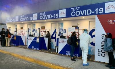 Pruebas Covid disponibles las 24 horas en el aeropuerto capitalino