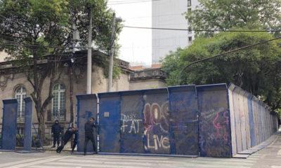 Blindan representación de QRoo en CDMX por presencia de feministas