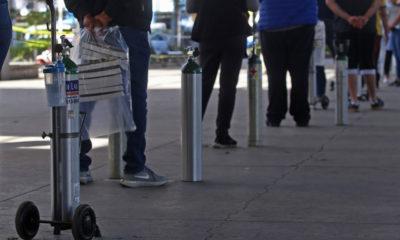 Alertan por ventas falsas de tanques de oxígeno en redes sociales