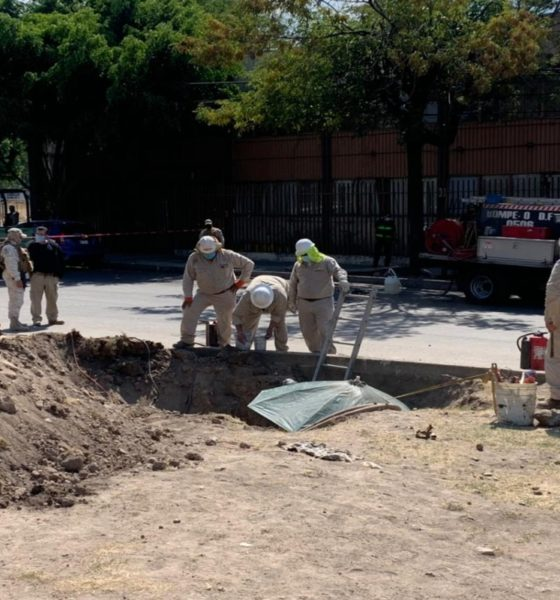 Ubican toma clandestina de combustible en Azcapotzalco