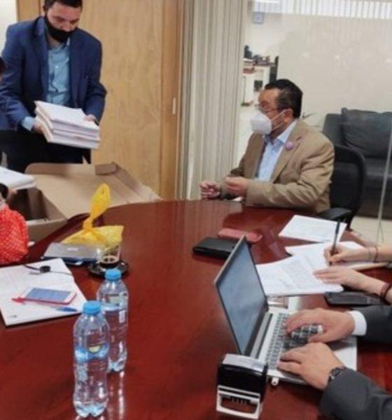Fiscalía de la CDMX presenta solicitud de desafuero contra Saúl Huerta