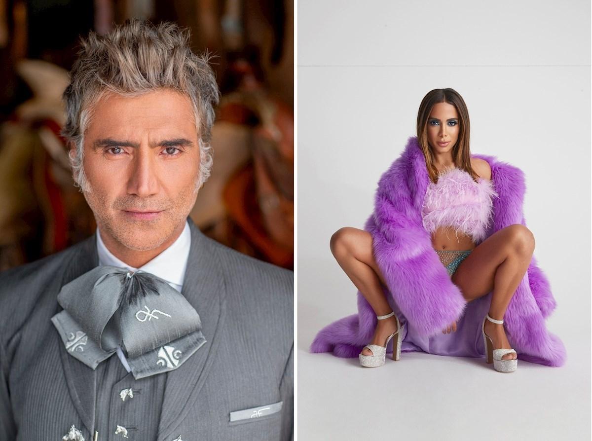 Alejandro Fernández y Anitta