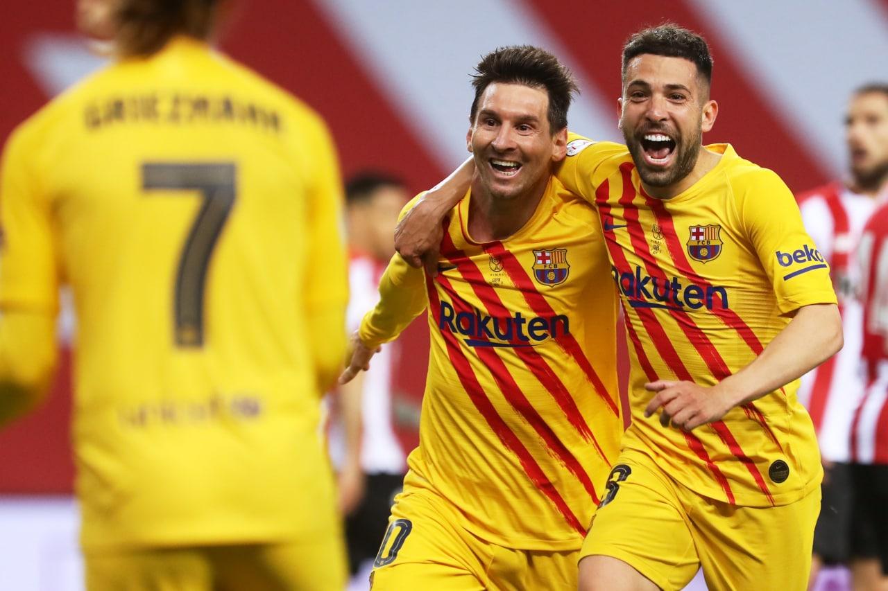Barcelona campeón de la Copa del Rey. Foto: Barcelona