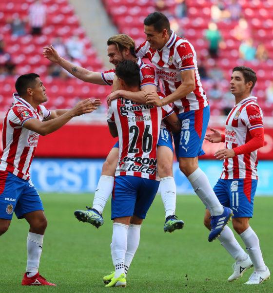 Chivas sufrió pero empató con Santos. Foto: Twitter Chivas