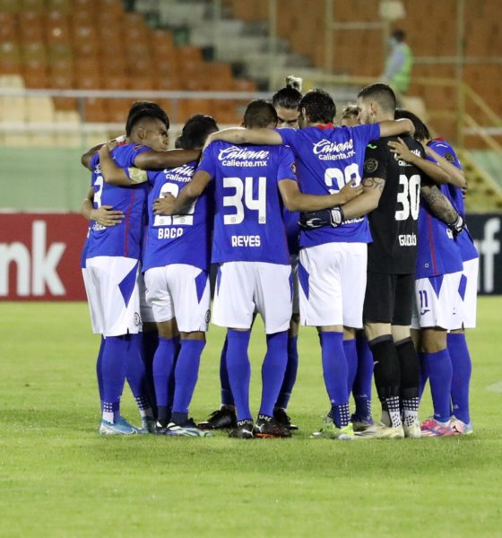 Cruz Azul se enfrenta a Chivas. Foto: Twitter