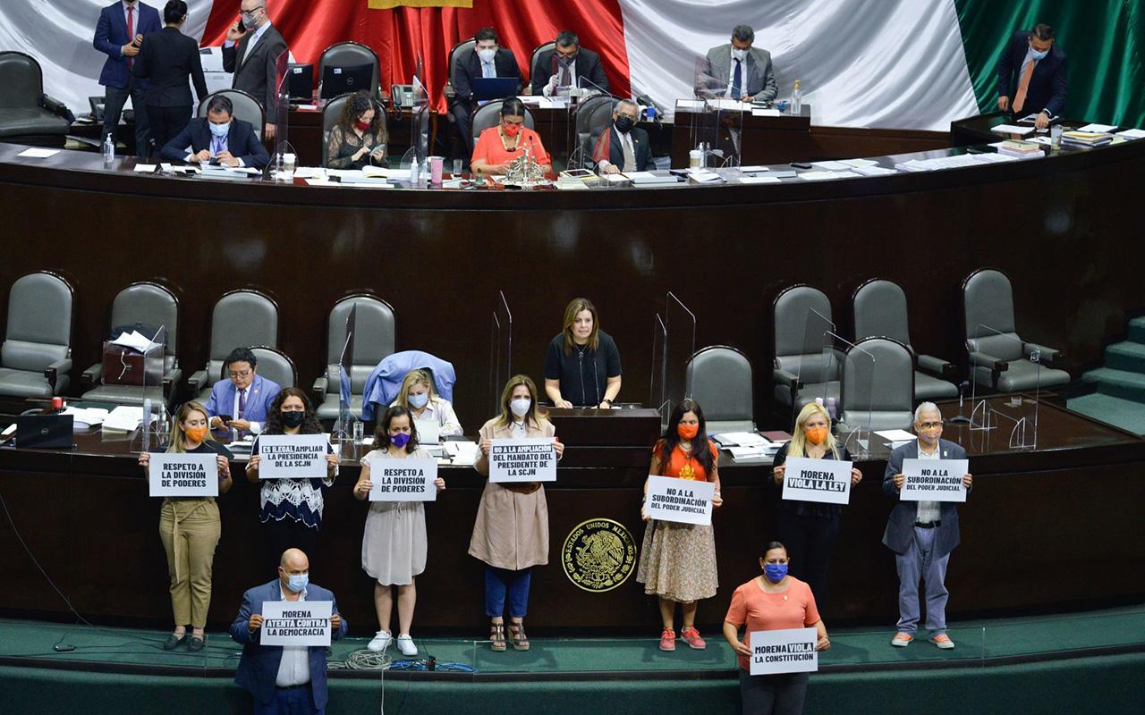 Avalan Diputados reforma que alarga gestión de Zaldivar en SCJN